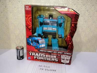 TRANSFORMERS PROTECTOBOT Hot Spot No Optimus Prime