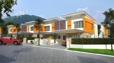 {NEW HOUSE) Semi D Double Storey Villa Universiti, Sg Pusu, Gombak,Sel