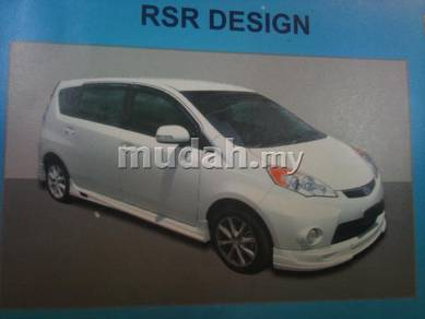 Perodua alza rsr full set bodykit with paint pu