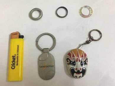 Vancouver Pendant / Lighter / Ring Cincin Silver