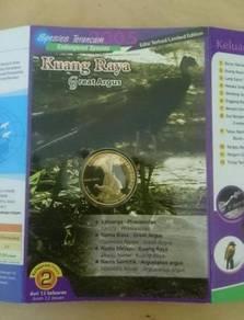 Malaysia Coin card Bird series 2