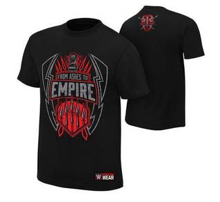 WWE Roman Reigns From Ashes to Empire T Shirt