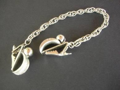 PN075 Vintage Chain Clip