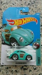 HotWheels Volkswagen Beetle Tooned Turquiose Green