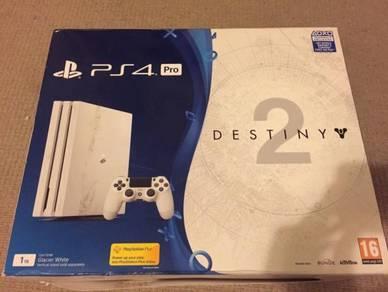 Sony playstation 4 pro destiny edition 2 ori Myset