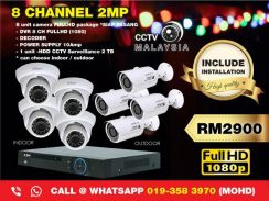 Cctv malaysia 8channel 2mp-146