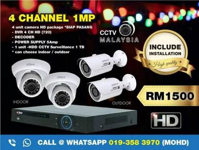 Cctv malaysia 4channel 1mp-146