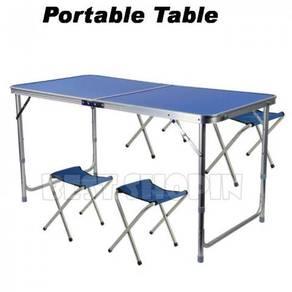 Portable Foldable Aluminium Camping Outdoor Table