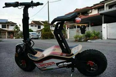 Scooter bike new set