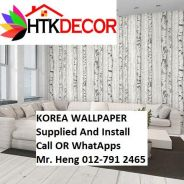 PVC Vinyl Wall paper with Expert Install 435XW