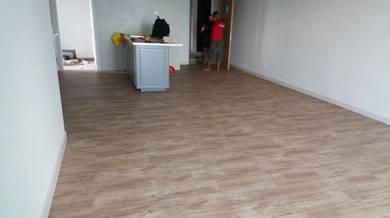 Vinyl Floor Lantai Timber Laminate PVC Floor M241