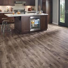 Vinyl Floor Lantai Timber Laminate PVC Floor M247