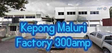 [Hot item]Kepong Maluri Factory 300amp