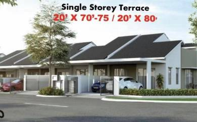 New single storey at seremban