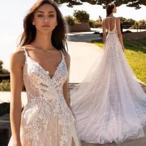 White wedding bridal dress gown RB2110