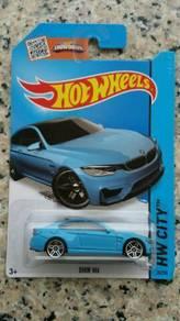 HotWheels BMW M4 (blue)