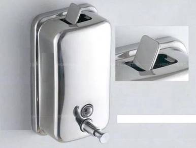 Stainless steel soap dispenser / dispenser sabun