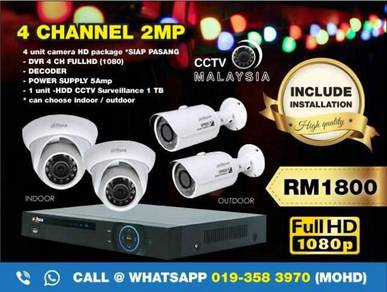 Cctv malaysia 4channel 2mp-146