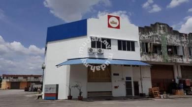 2 storey corner factory 40x80 Taman Perindustrian Selesa Jaya Balakong