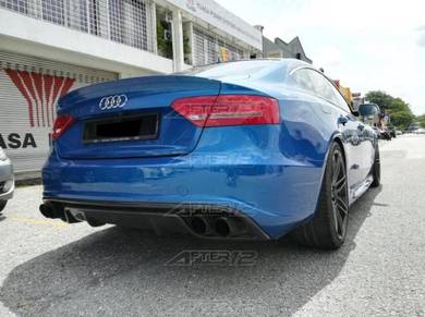 Audi A5 S5 RS5 rear carbon diffuser bodykit