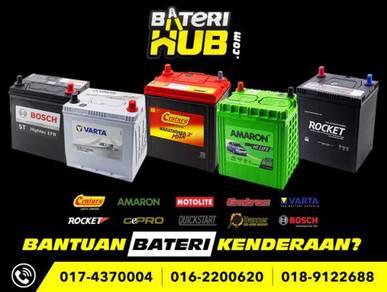 Car battery Almera Bezza Alza Axia Bateri Kereta