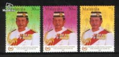 Mint Stamp Agong Malaysia 2002