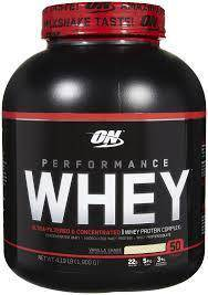 On performance whey protein muscle