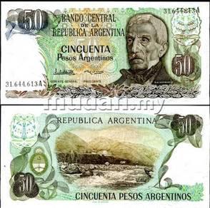 Argentina 50 pesos 1983 p 314 unc