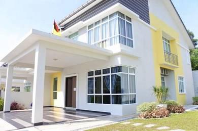 Rumah Baru, Semi-D 2 Tingkat, Gated Guarded, Seremban 2