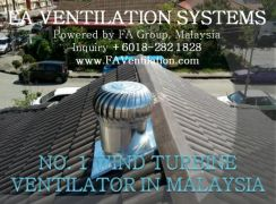 22W-SA FA Wind Turbine Ventilator US / Air Vent