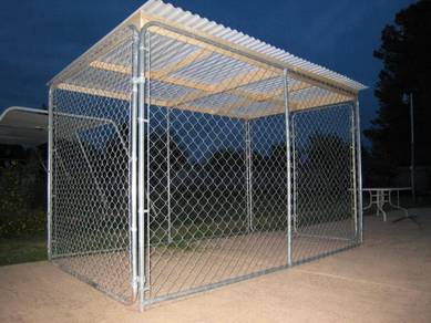 Chain Link Storage Cage 7.5ft x 7.5ft x 6ft