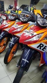 HONDA 125 REPSOL PROMOSI MUKA RENDAH (chun motor)