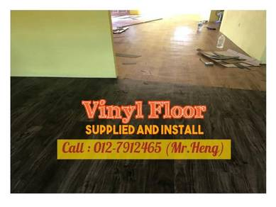 Beautiful PVC Vinyl Floor - With Install TG72