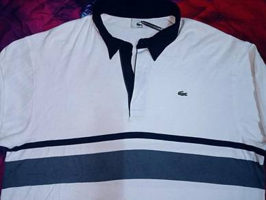Authentic LACOSTE STRIPED RUGBY SzXL Shirts