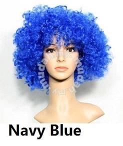 Cospaly Multicolor boom wig - UM001 Navy Blue