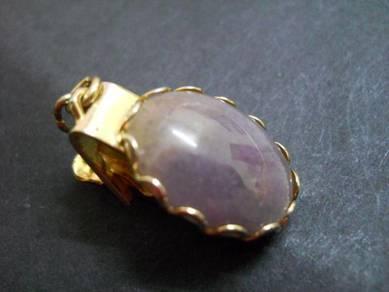 PN050 Vintage PAT stone clip