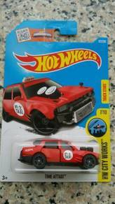 HotWheels Time Attaxi (red)