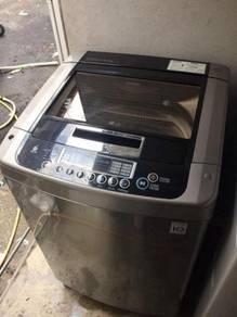 LG 9.5kg washing machine top load automatic