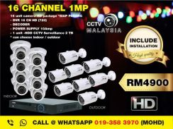 Cctv malaysia 16channel 1mp-146