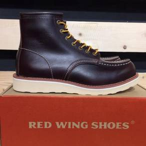 Red Wing 8875 Moctoe Boots Dark Red Color Shoes