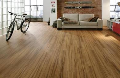 Vinyl Floor Lantai Timber Laminate PVC Floor M243