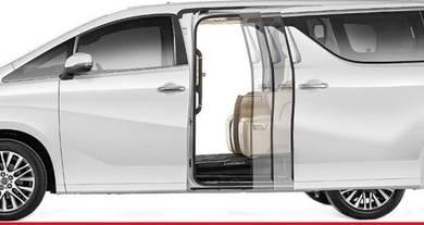 Vellfire alphard 2015-18 install rear auto door
