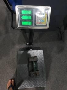 DIGITAL SCALE platform 150kg timbang