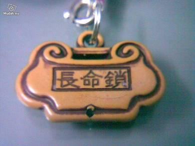 ABPP-F001 Plastic Long Life Lock Rich Peace Pendan