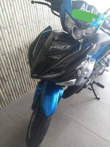 Yamaha Y15zr v2 Y15 2019 baru 1000km