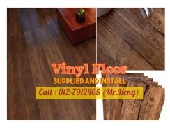 Ultimate PVC Vinyl Floor - With Install ÑQ84