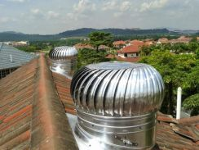 E4R-aust wind attic ventilator/exhaust fan