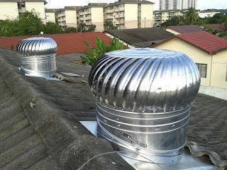 R143-aust wind attic ventilator/exhaust fan