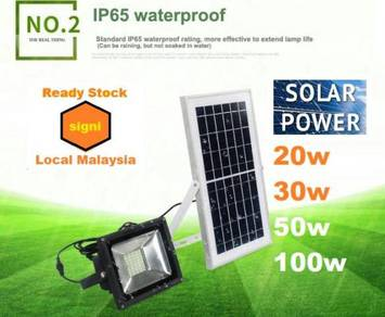 20W 30W 50W 100W solar panel solar Spotlight LED
