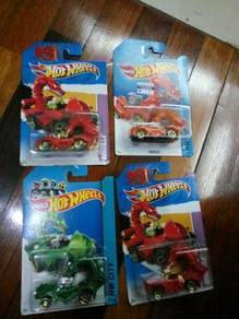 Hotwheels Year of Dragon LOT